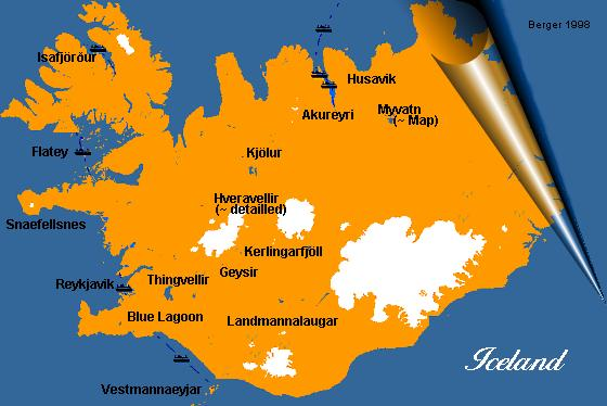 Image Map - Iceland Maps